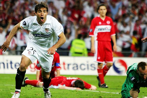 Enzo Maresca se convertiría en la gran figura de la primera final europea del Sevilla (Foto: AFP)