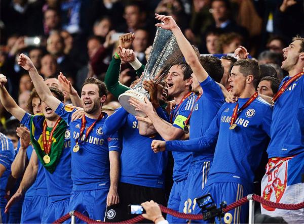 Chelsea salvó la temporada conquistando la Europa League en un encuentro muy apretado ante Benfica (Foto: AFP)