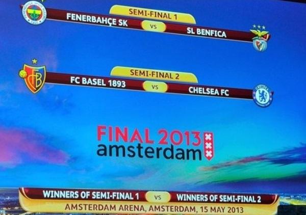 Amén a los emparejamientos de las semifinales de la Europa League, Chelsea pinta como principal candidato a ganar el trofeo. Igual, no la tendrá fácil (Foto: uefa.com)