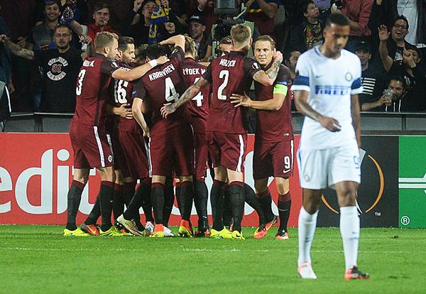 El rival del Rostov, Sparta Praga, venía de ganar su grupo de la Europa League por encima del Inter de Milán. (Foto: AFP)