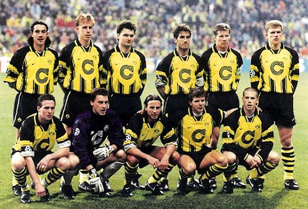 Aquel Dortmund tenía un equipo compacto al que no le sobraba nada pero que tenía talento suficiente para alcanzar el título (Foto: AFP)