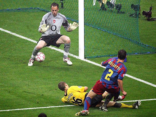 Inolvidable gol de Belletti. (Foto: AFP)
