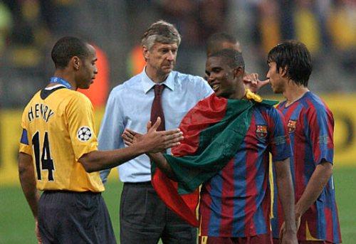 Henry luego de perder la final de la Champions en 2005-2006 ante el Barcelona. Ahora está del lado opuesto (Foto: dailymail.co.uk)