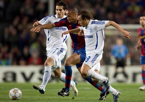 Henry debe aparecer en todo su esplendor en semifinales para que el Barcelona aspire a llegar a Moscú (Foto: schalke04.de)