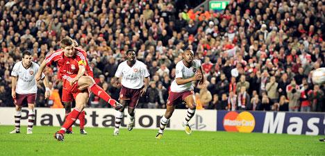 Gerrard, otro de aquellos a los que jamás debe apostarse en contra (Foto: dailymail.co.uk)