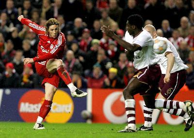 El 'Niño' Torres anotó un gol de película, de esos que hace siempre (Foto: EFE)
