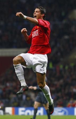 Frankie acabó la Champions reconociendo a Cristiano Ronaldo como el mejor del mundo (Foto: Reuters)