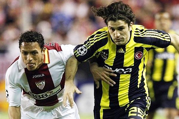 Sevilla llegó a la Champions League 2007/2008 como candidato, pero quedó en octavos (Foto: AFP)