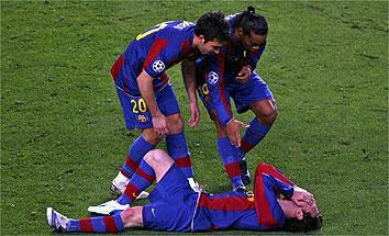 Frankie exime responsabilidades sobre la mala estela de Messi (Foto: marca.com)