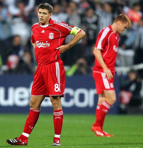 Cuando Gerrard no está en un buen día, el rendimiento del equipo cariacontece (Foto: dailymail.co.uk)
