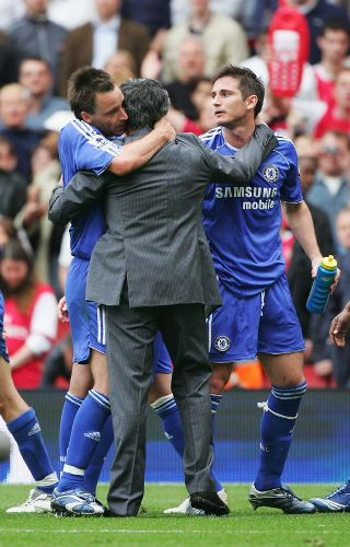 Terry y Lampard siguen marcando la pauta del caudillaje del equipo y de la ambición de título (Foto: abc.net.au)