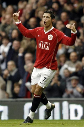 Cristiano Ronaldo es claramente la carta mayúscula del Manchester rumbo a su tercer título continental (Foto: actualidadfutbol.com)