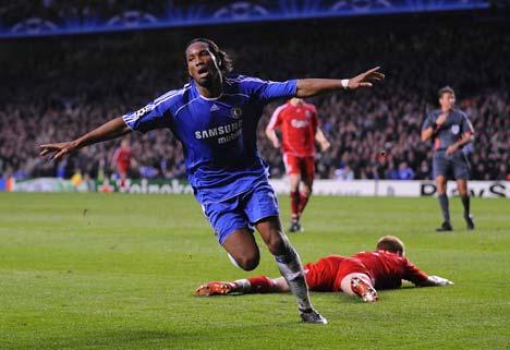 Drogba llevó al Chelsea a volar hacia Moscú rumbo al que podría ser su primer título de Champions League (Foto: dailymail.co.uk)
