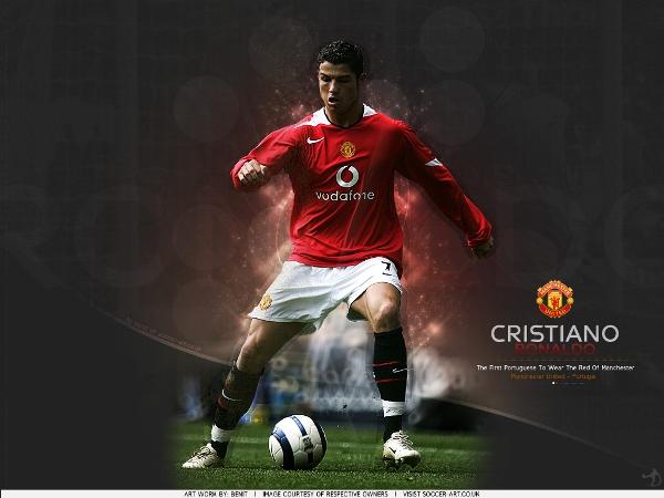 CR7: la clave ganadora para el mundo visto en rojo (Wallpaper: soccer-art.co.uk)