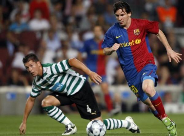 Sin anotar, Messi fue el mejor del campo ante el Sporting (Foto: as.com)