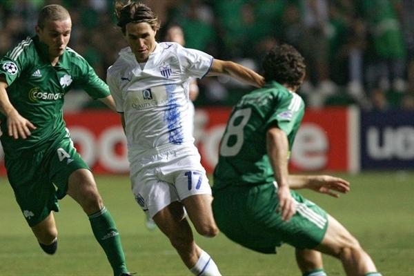 Savio estuvo imparable para la zaga del Panathinaikos y fue el mejor en el triunfazo del Anorthosis (Foto: UEFA.com)