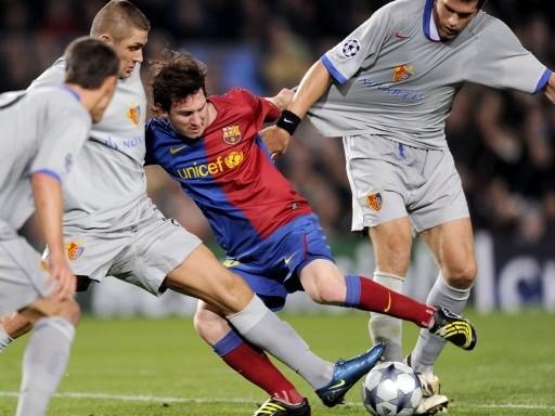 El gol de Messi le quedó cortó al Barça y el Basel rescató un increíble punto del Camp Nou (Foto: FIFA.com / AFP)