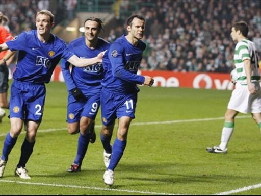 Giggs apagó los festejos del Celtic cuando apenas faltaban 6' para el final (Foto: FIFA.com / AFP)