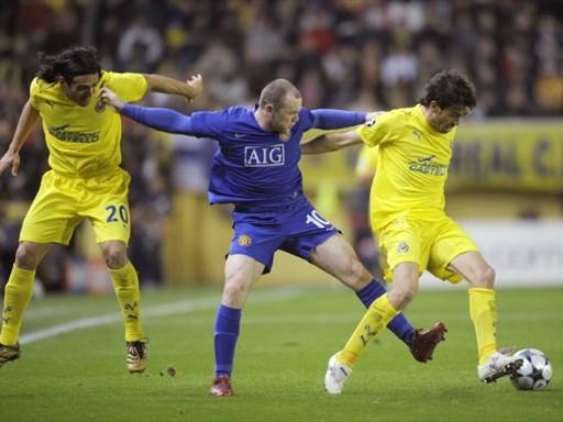 Bailaron al mismo compás, y tanto Villarreal como Manchester United clasificaron a la siguiente ronda (FIFA.com / AFP)