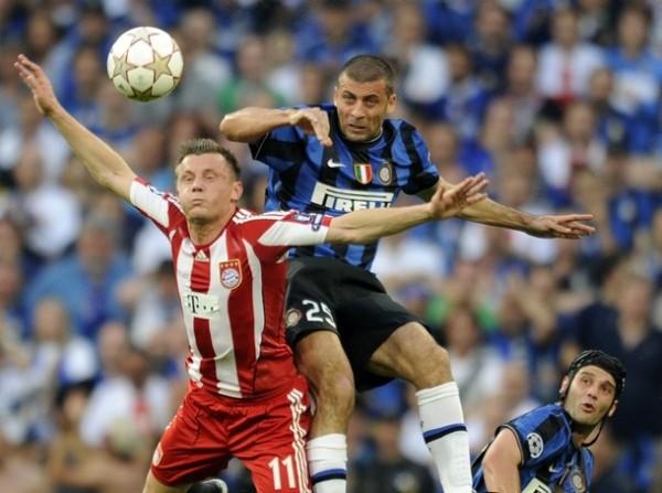 Inter y Bayern en acción durante la final de la última edición de la Champions. Para los bávaros, esta es su esperadísima revancha (Foto: AFP)