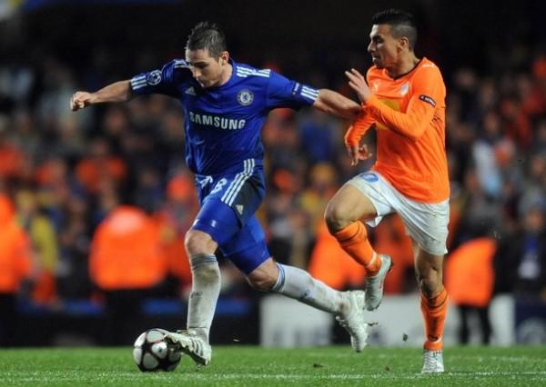 A POR EL. Lampard fue un dolor de cabeza para los chipriotas. El Chelsea sin mucho desgaste empató y los dejó últimos (Foto: REUTERS)
