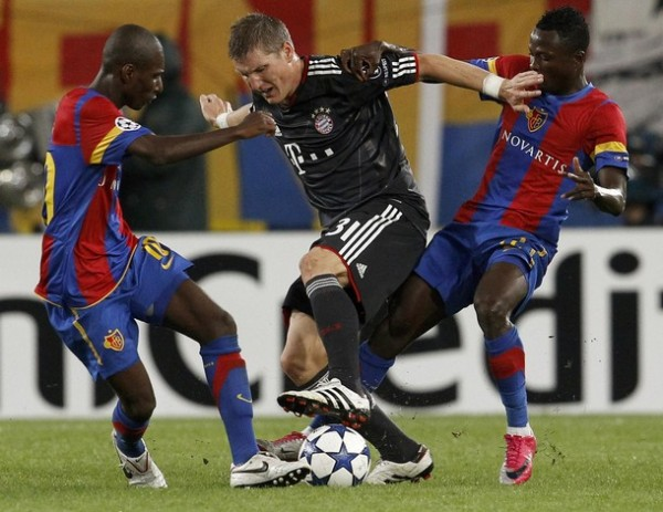 El Basel y el Bayern ya se vieron las caras en la fase de grupos de la edición 2010/2011. (Foto: AP)