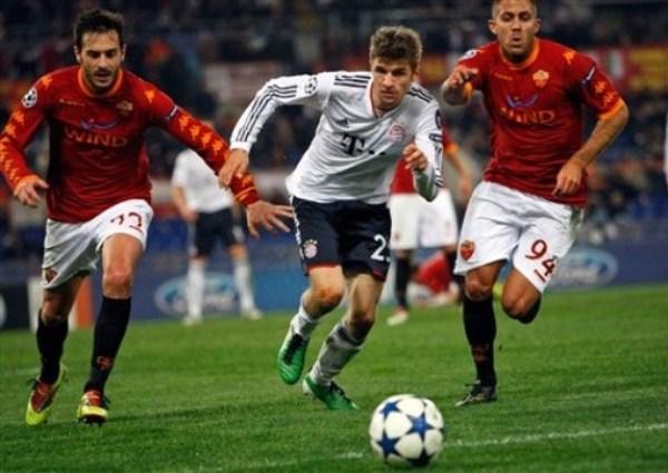 Bayern volvió a perder 3-2 como en 2010 ante la Roma de Totti (Foto: AP)