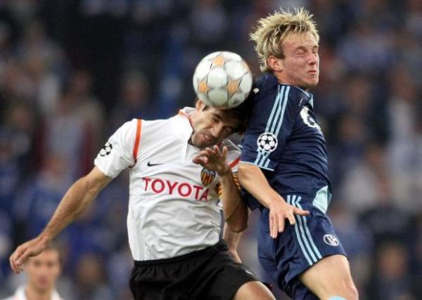 Valencia y Schalke ya se habían visto las caras en la Champions 2006/2007 (Foto: elpais.com)