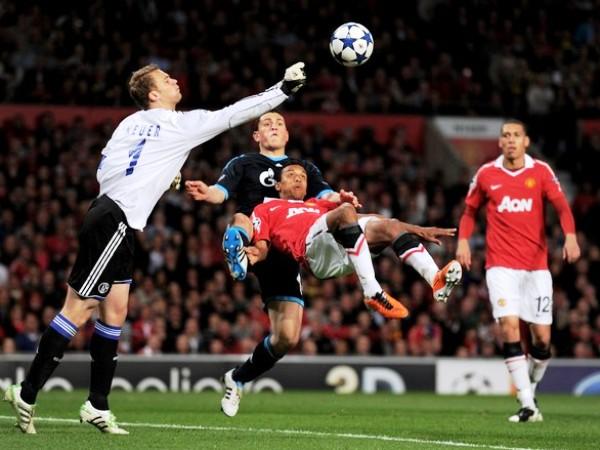 NO FUE SALVACIÓN. Esta vez, Manuel Neuer no pudo evitar la caída de su valla tan rápido. El arquero, sin embargo, tuvo buenas atajadas. (Foto: AP)