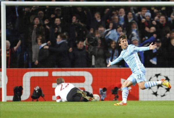 NO ALCANZÓ. Pese a imponerse 2-0 al Bayern, el Manchester City quedó eliminado de la Champions. (Foto: EFE)