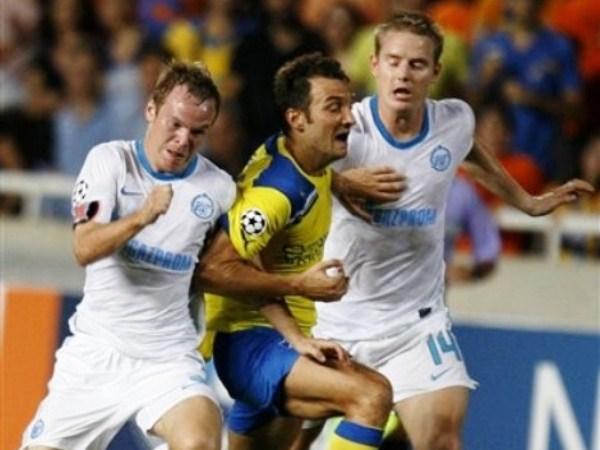 APOEL 2-1 ZENIT. El equipo chipriota fue superior al cuadro ruso y pudo traducirlo en el marcador. (Foto: AFP)