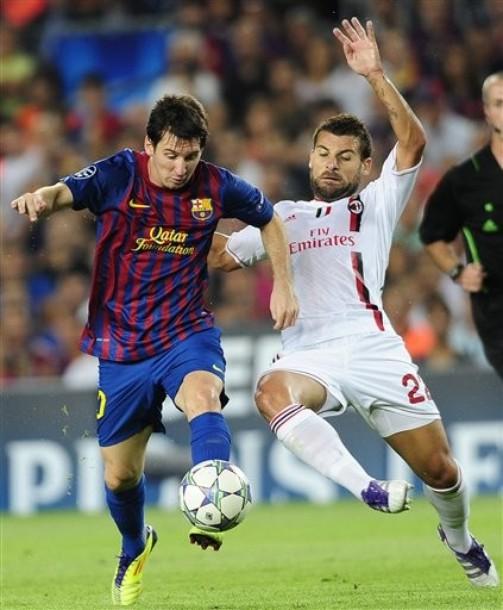 Barcelona y Milan se vuelven a topar tras haber compartido el mismo sector en la fase de grupos. Claramente es la llave más pareja de los cuartos (Foto: AP)