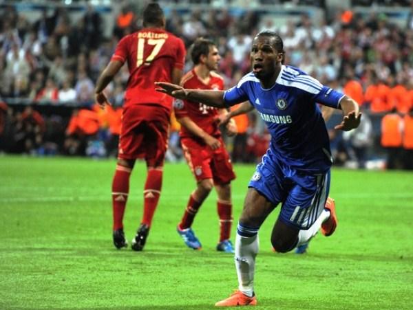Con un Didier Drogba inspirado, el Chelsea alcanzó el mayor logro de su historia al imponerse sobre el Bayern en la Champions (Foto: AFP)