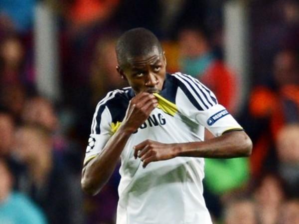 EL CAPO. Ramires tuvo un despliegue fantástico durante todo el cotejo. Además, le permitió al Chelsea lograr un gol clave en la serie. (Foto: AFP)