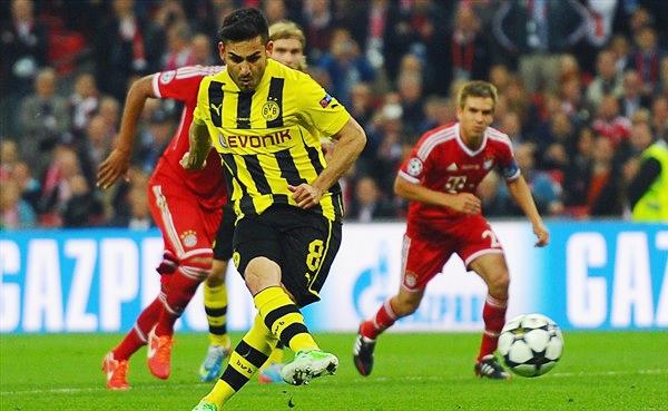 Casi sin darle respiro a su rival, Dortmund empató con un penal ejecutado con precisión por Ilkay Gündogan (Foto: AP)