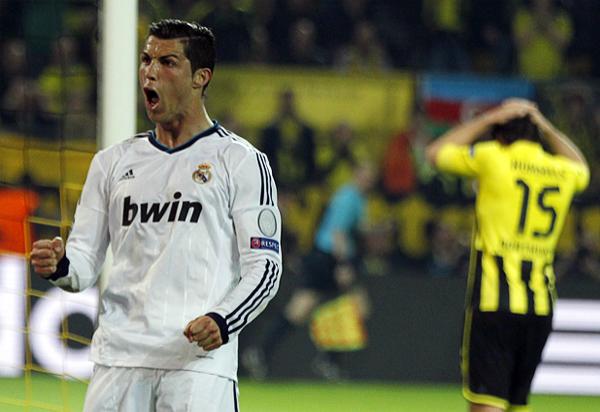 Cristiano Ronaldo le dio el empate al Madrid y la esperanza por sacar un buen resultado, pero esa igualdad duró muy poco (Foto: Reuters)