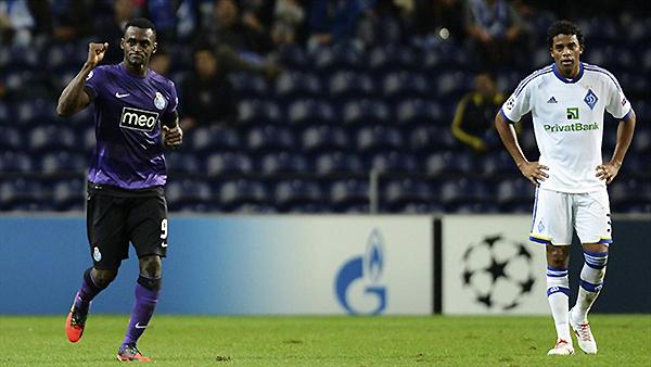 Jackson Martínez tiene buena relación con los ucranianos, pues les volvió a marcar un doblete (Foto: AP)