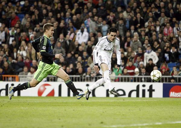 LA JOYITA: El Real Madrid sigue contando con José Callejón como recambio seguro en el ataque y ante el Ajax el español se mandó con un buen gol (Foto: marca.com)