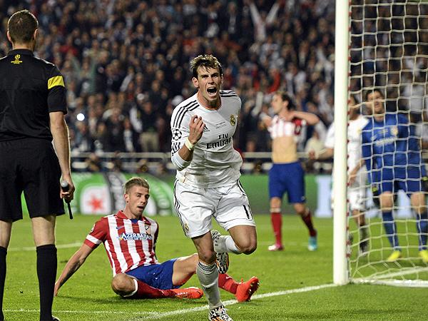 La Champions quedó en manos de Real Madrid luego que Gareth Bale culminó una gran acción de Angel di María para voltearle el marcador al Atlético (Foto: Sportsfile)