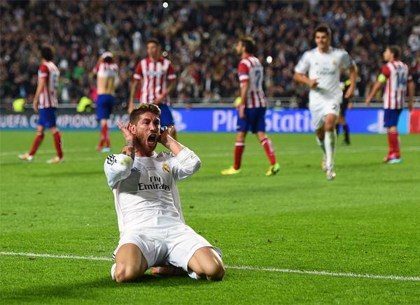 Ramos fue el Schwarzenbeck de 40 años después. (Foto: AFP)