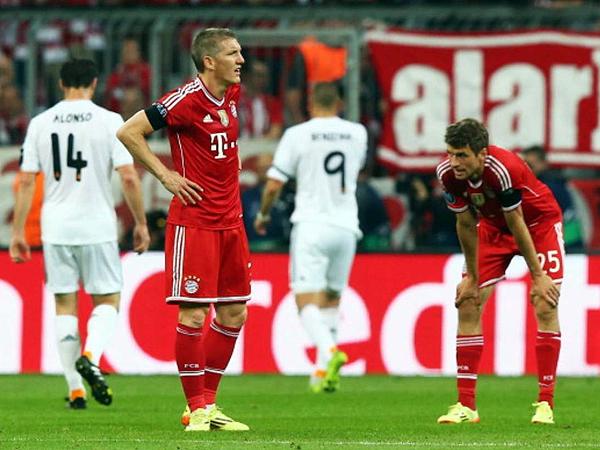Bayern exhibió un nivel muy bajo ante los madrileños, que sacaron provecho de todos los errores bávaros (Foto: AFP)