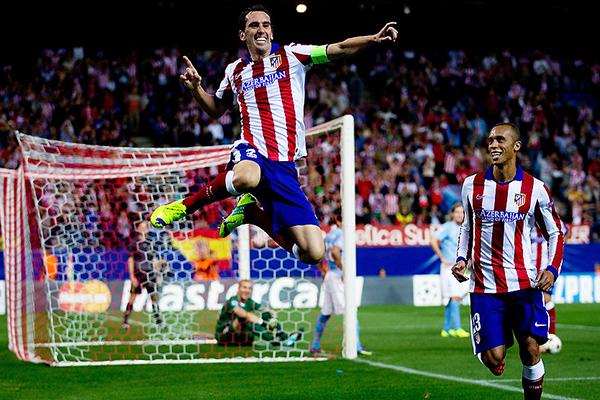 Como era de esperarse, las diferencia entre el Atlético de Madrid y el Malmö se reflejaron en el marcador: 5-0 (Foto: AFP)