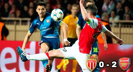 Monaco, Arsenal, Alexis Sánchez, Giroud, Welbeck
