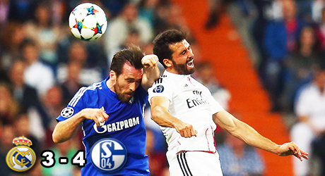 Madrid, Schalke, Ronaldo, Arbeloa, Fuchs, Sané, Huntelaar