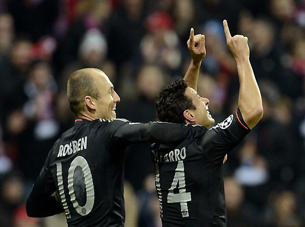 Claudio Pizarro parte como la pieza de recambio para el Bayern (Foto: AFP)