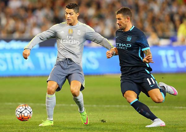 ¿Volverá a aparecer Cristiano Ronaldo en el Manchester City - Real Madrid? (Foto: AFP)