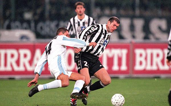 Zidane nunca pudo ganarle a Lazio con Simeone en la cancha. (Foto: AFP)