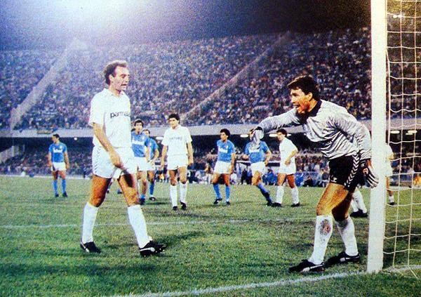 Real Madrid eliminó a Nápoli en la Copa de Europa 1987/88. (Foto: tradicion1902.blogspot.com)