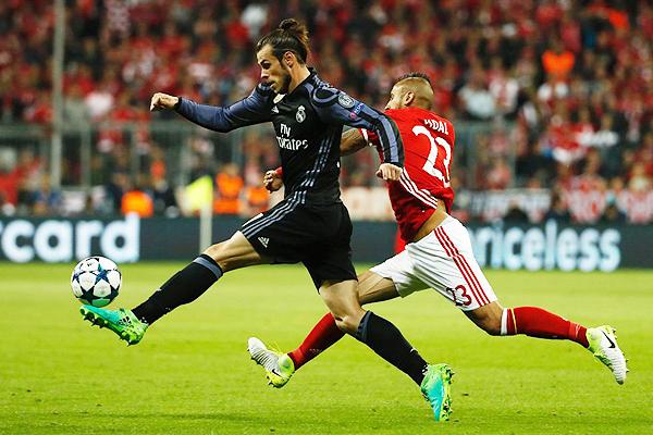 El Real Madrid encontró el punto débil del Bayern en un partido clave. (Foto: AFP)