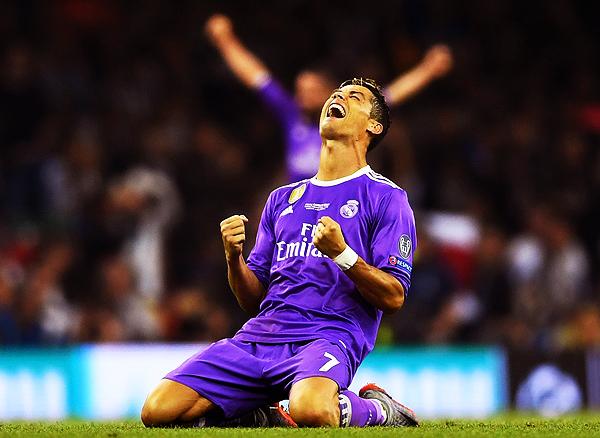 Cristiano Ronaldo fue la figura de la final. Celebró un título más. (Foto: AFP)